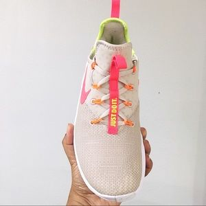 24677f6eeaeb8 Nike Shoes - Women s Nike Free TR 8 Desert Sand Hot Punch White